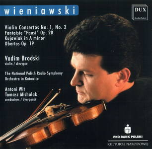Wienawski: Violin Concertos Nos. 1 & 2, Fantaisie brillante on themes from Gounod's Faust, Kujawiak in A minor & Obertas